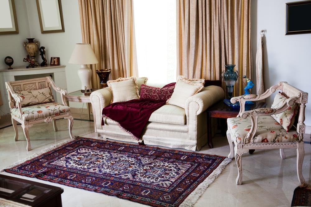 Living Room Oriental Rug